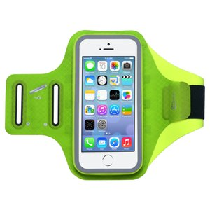 5.8 pulgadas teléfono impermeable Gym Running Brazalete táctil impermeable Jogging Brazo Bolsas de teléfonos móviles para iPhone X XS 8 7 6 Plus
