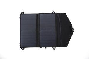Солнечная энергия открытый зарядный мешок эффективный лист с высокой скоростью преобразования быстрая зарядка 14W солнечная складная сумка