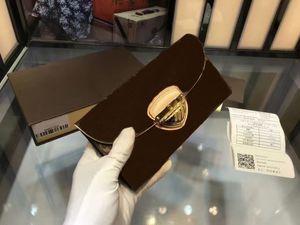 Brand 2018 Mujeres / hombres titulares de tarjetas de crédito Brazza monederos Famous Brand pocket Long Hasp carteras pallas con caja de 187 bolsas envío gratis 60123
