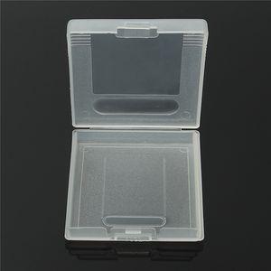 Cartouche De Jeu En Plastique Boîtier Cartes De Jeu De Stockage Boîte Pour GameBoy Pocket GB GBC GBP Protecteur Titulaire Couverture Shell Haute Qualité RAPIDE SHIP