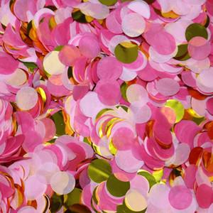 день рождения свадьба 1 дюйм 1 кг металл конфетти 2.5 см розовое золото черный бумага конфетти выпускной стол декор babyshower поставки