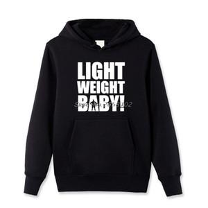 Nouveau poids léger bébé imprimé Hoodies Hommes Coton Polaire Pull Sweat Casual Manteau drôle Sweat à capuche