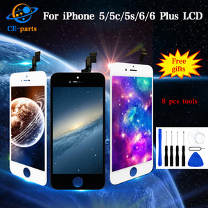Prezzo all'ingrosso per iPhone 5 5c 5s 6 6 Plus Display LCD Touch Screen con display Digitizer Assembly completo di ricambio Tianma Quality