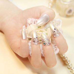 Полное покрытие ложные советы искусства ногтя Faux Nair Art поддельные советы акриловые искусственные ногти шпильках Совет макияж DIY