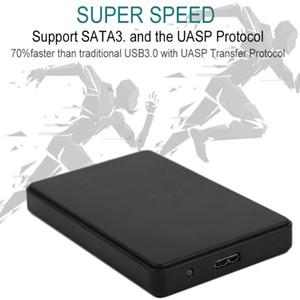 Высокоскоростной USB 3.0 Внешний жесткий диск Корпус Корпус 2,5-дюймовый SATA HDD корпус ABS Box для жестких дисков Diisk доставка бесплатно