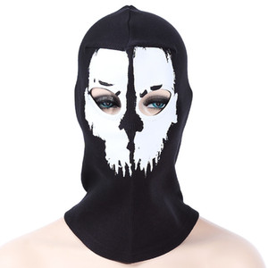 Outdoor Camping Hiking Skull Pattern Cycling Windproof Dustproof Mask Anti-dust and windproof, can protect you from coldness and dust