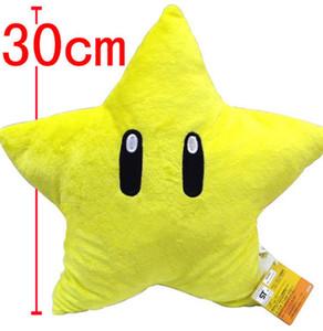 30см звезды Starman Плюшевые Детские куклы подарков для Nintendo Super Mario Brothers подарок NEW HOT