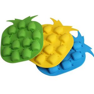 Creative Ice Maker Moule Bar Partie Boisson Ice Tray Ananas Forme Ice Cube Freeze Moules Cuisine BRICOLAGE Outils Couleur aléatoire