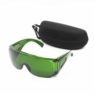 OPT / E ضوء / IPL / فوتون الجمال صك سلامة نظارات نظارات الليزر الأخضر 340-1250nm امتصاص واسعة