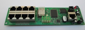 Embedded general type 9 port for wired router module, network engineering, weak box, box office information, family, etc..