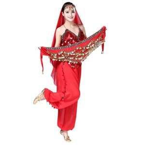 Belly Dance Belt Women Multi Rhinestone Hip Bufanda Samba Carnaval Disfraces Exótico Dancewear Gypsy Tribal Coin Belt