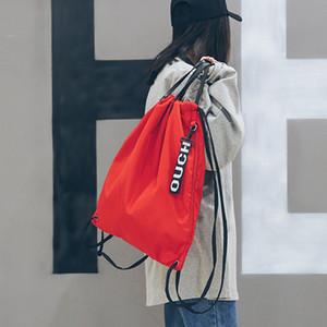 Seil ziehen kordelzug bündel tasche rucksack dual-zweck wasserdichte outdoor-sportarten travelriding rucksack mode-accessoires mode tasche