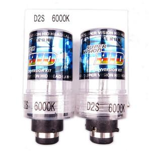 2шт AC 35W ксеноновые D2S 4300K лампы балласт ксеноновые лампы hid свет D2S 6000K 5000k D2S ксенон 8000k замена автомобиля авто фар