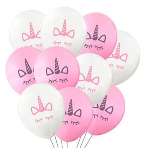 """10"""" единороги воздушные шары надувные латексные баллоны украшения партии Роман Palloncini свадьба Рождество baby shower день рождения Рождество Хэллоуин подарок"""
