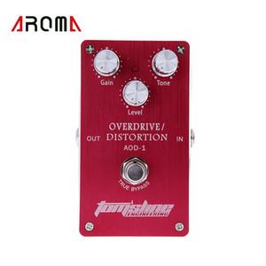 Aroma aod-1 오버 드라이브 이펙트 페달 Guitarras eudo pedal de aluminio de vivienda 진정한 bypass diseño