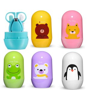Мультфильм маникюрный набор уход за ногтями Уход за ребенком удобный ежедневные ногтями ножницы наборы инструментов детский набор C4677
