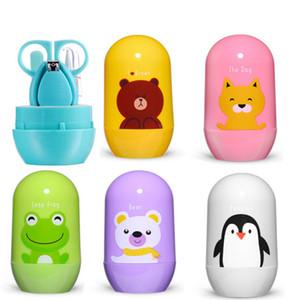 Cartoon Maniküre Set Baby Nagelpflege Pflege Bequem Tägliche Nägel Care Kits Scissor Kids Tools Set C4677