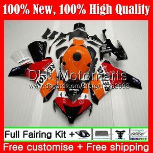 Repsol Inyección naranja para HONDA CBR1000 RR 08 11 CBR1000RR 08 09 10 11 42MT CBR 1000 RR CBR 1000RR 2008 2009 2010 2011 Carenado