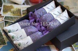 Lavanta poşet doğal kurutulmuş çiçekler uyku tatlı bursa araba gardı sachets sıyırma tatlı duman çanta özel hediye kutusu