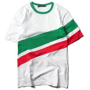 Maré marca triângulo t shirt para homens verão hip hop solto mens designer t camisas de manga curta homens t shirt Ásia tamanho frete grátis