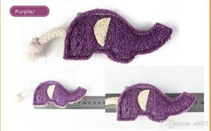Luffa Collaterals Pet mastica giocattolo Elephant Shape Squisita Mini Pulizia sana Digestibility Bardian Cat Dog Toys leggero 1bq dd