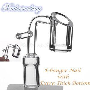 20mm Spule E Banger Nagel mit Extra-4mm dick elektronische Domeless Quarz-Banger-Nagel mit Haken Heater 668