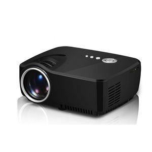 GP70 projecteur HD LED HDMI USB Digital Video Home Theater Portable LCD USB HDMI DLP Pico LED Film Mini Projecteur