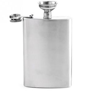 Le plus nouveau flacon de hanche de boisson alcoolisée en acier inoxydable portable de 8 zones Sier