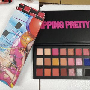 2018 Hot Makeup Palette Sipping Pretty 21colors palette de fard à paupières 21st Birthday Edition poudre pressée poudre à paupières