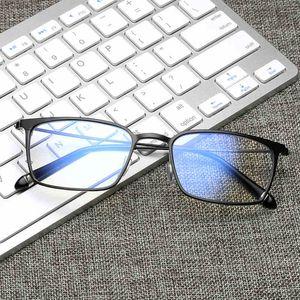 Computer-Schutzbrillen-Antiblau-Laser-Ray-Müdigkeits-Strahlungs-beständige quadratische Glas-Brillen-Rahmen-Eyewear J805