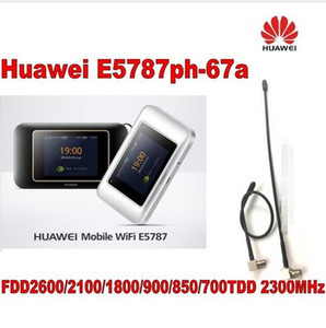 Huawei 300mbps 4g router lte Cat6 WiFi Router con slot per schede SIM E5787ph-67a hotspot più 2 pz 4g antenna