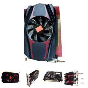 HD7670 4 Гб DDR5 128 бит PCI Express Durable Game Video Graphics Card для Gaming Desktop Supplies Independent Gaming Graphics Card