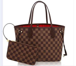 Louis Vuitton 2pcs / набор высокого Qulity классической конструктора WOMENS сумочек цветок дама композитный тотализатор PU кожа сцепление плеча сумка женский кошелек с кошельком