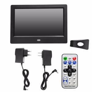"7 ""Schermo LED HD Digital Photo Frame sveglia Orologio MP3 / 4 Player 2018 Digital Photo Frames nuovo stile"
