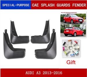 4Pcs Set Car Mudflaps Splash Guards Mud Flap Mudguards Fender For AUDI A3(8V) 2013-2016 HATCHBACK