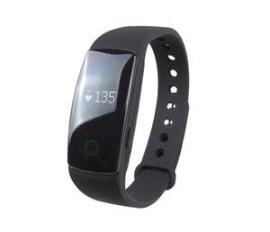 ID107 Akıllı Bileklik Saat Spor Tracker Nabız Smartwatch Adımsayar Akıllı Bileklik için Iphone Android Akıllı Telefon İzle
