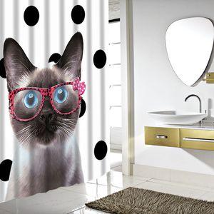 YENİ Tasarım SDARISB Farklı Custom Su geçirmez Banyo Duş Perde Polyester Kumaş Banyo Perde