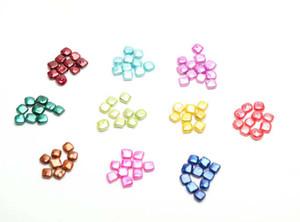 Красивые квадратной формы свободные жемчужины культивированные пресноводные устрицы барокко раковины жемчуга 10-11 мм ювелирные изделия diy жемчуг оптом
