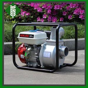 Bomba de agua de 3 pulgadas WP30 bomba de agua de motor de gasolina de gran flujo bomba de agua de gasolina de irrigación agrícola de 6.5HP