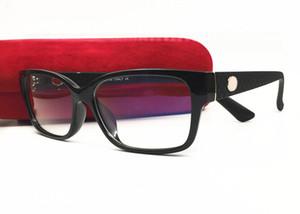 ماركة نظارات الرجال والنساء أزياء النظارات النظارات البصرية قراءة قصر النظر النظارات الإطار مع القضية الأصلية