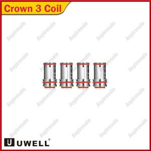 Аутентичные Uwell Crown 3 катушки головка 0.25 ом 0.5 Ом 0.4 ом замена Sus316 параллельные катушки для Crown III распылитель бак