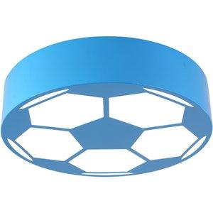 Lampada da soffitto a forma di pallone da calcio per bambini in vetro a forma di pallone da salotto per bambini