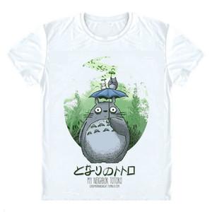 Moe Anime Mein Nachbar Totoro T-Shirts Multi-Stil Kurzarm Shirts Miyazaki Hayao Tonari kein Totoro Cosplay Shirt