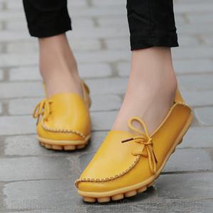 Mocassini moda Donna Scarpe basse per il tempo libero Scarpe da guida femminili Mocassini Scarpe da donna alla moda Scarpe casual Scarpe da donna in vera pelle Taglia 34-44