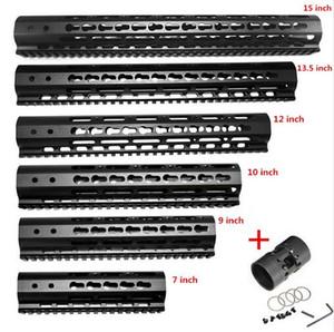 FIRECLUB 7 9 10 12 13.5 15 pollice AR15 Free Float Keymod Paramani Picatinny Rail per Caccia Tactical Rifle Scope Monti