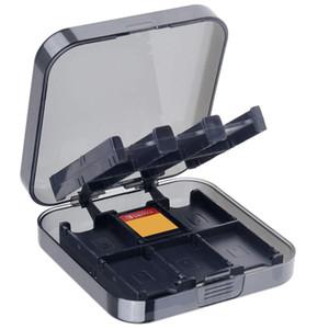 24 en 1 Slot ABS Transportant Boîte De Rangement Shell Titulaire Organisateur pour Switch NS NX Jeu Cartes Cartouche Cas FAST SHIP
