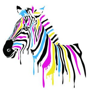 Arte Da Parede Da Lona Arte Moderna Giclee HD Imprime Pinturas Cavalo Colorido Abstrato Posters Sala de estar Decoração de Casa