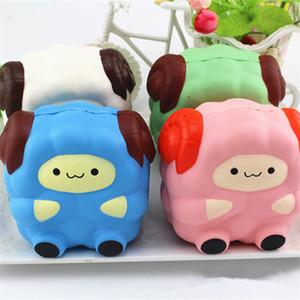 Commercio all'ingrosso Jumbo Squishy Big Sheep Giocattoli a pressione ridotta Multicolor Lovely Animal Squishies Decompression Toy Regalo per bambini