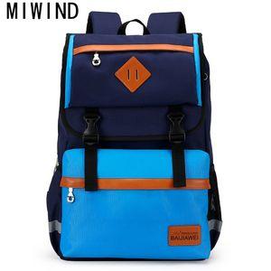 MIWIND 2.017 sacos de escola das meninas dos meninos das crianças ortopédica Backpack Crianças Brand Design na escola primária Mochilas TBE095