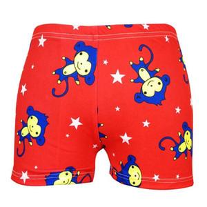 Verano nuevos bebés varones traje de baño 7-9Y de dibujos animados florales traje de baño niños nadar pantalones cortos niños niños pequeños pantalones de playa traje de baño